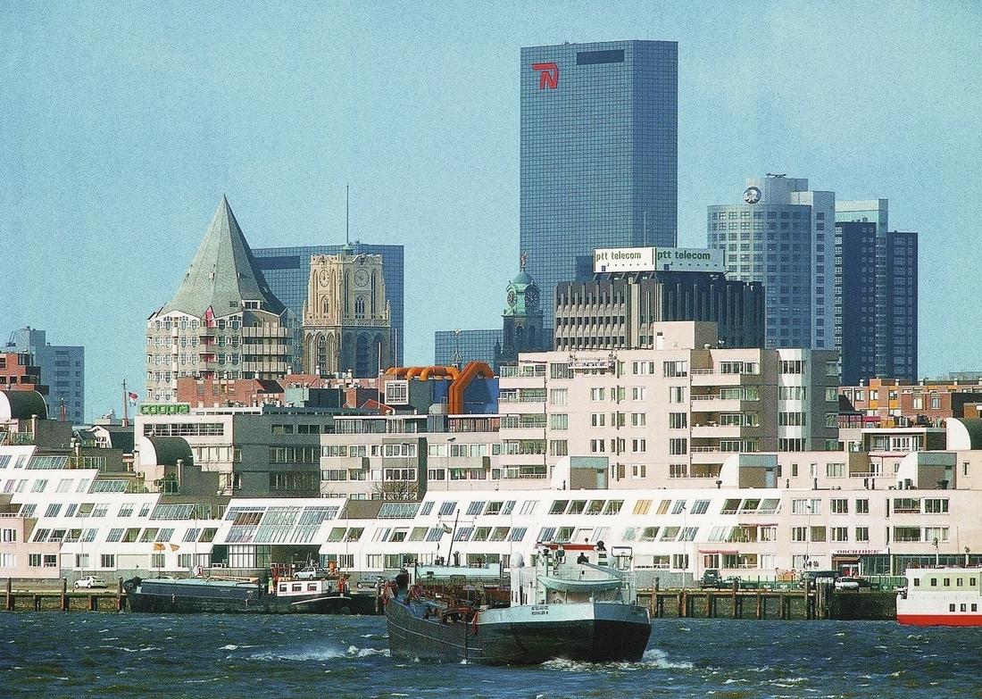 Rotterdam_Skyline_Hafen