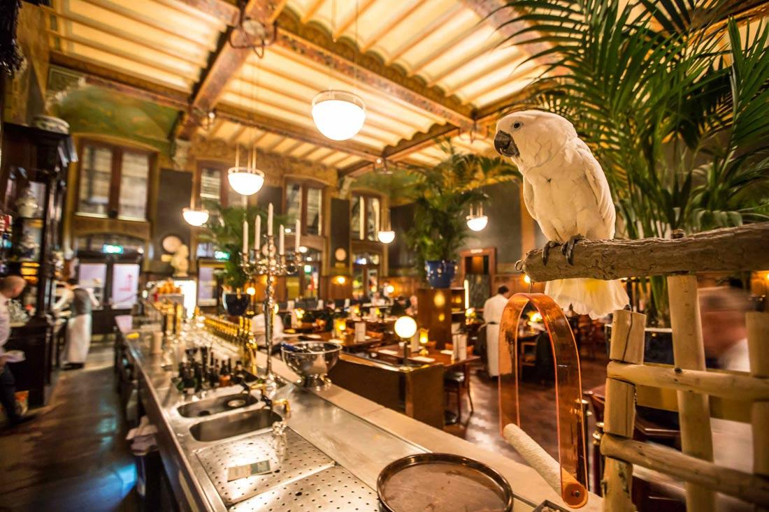 Grand Café Restaurant 1e klas Amsterdam