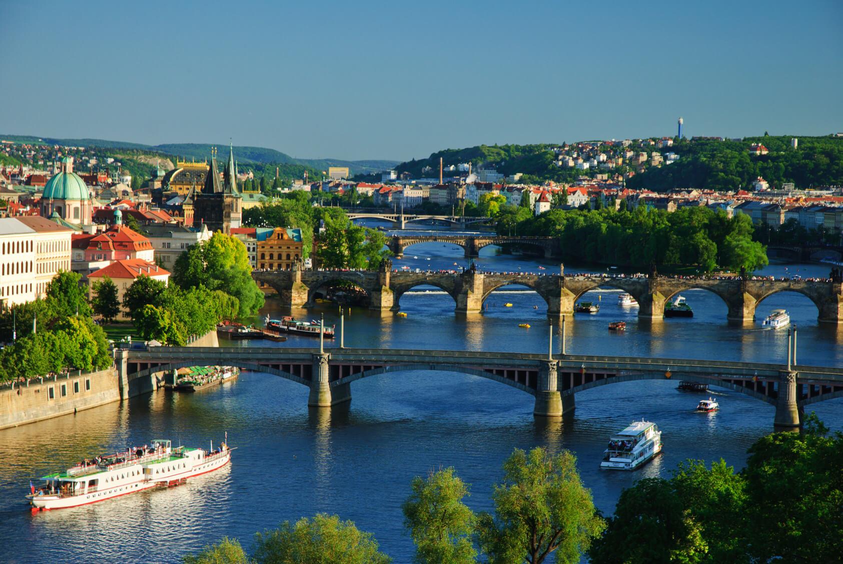 Klassenfahrt Prag mit DB