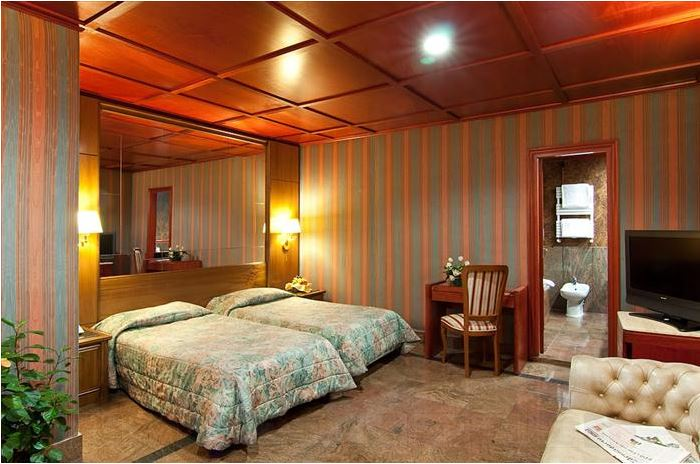 Rom_Hotel Madison_Zimmer