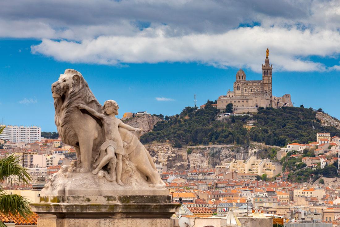 Marseille Stadt
