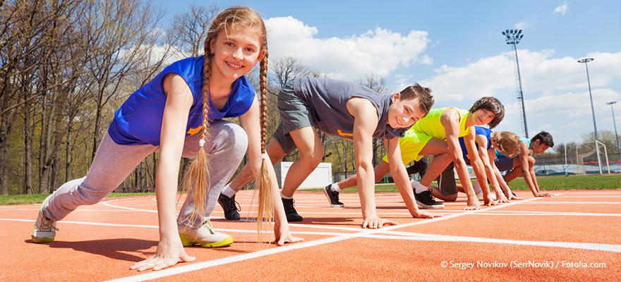 Schulsport Jugend trainiert für Olympia